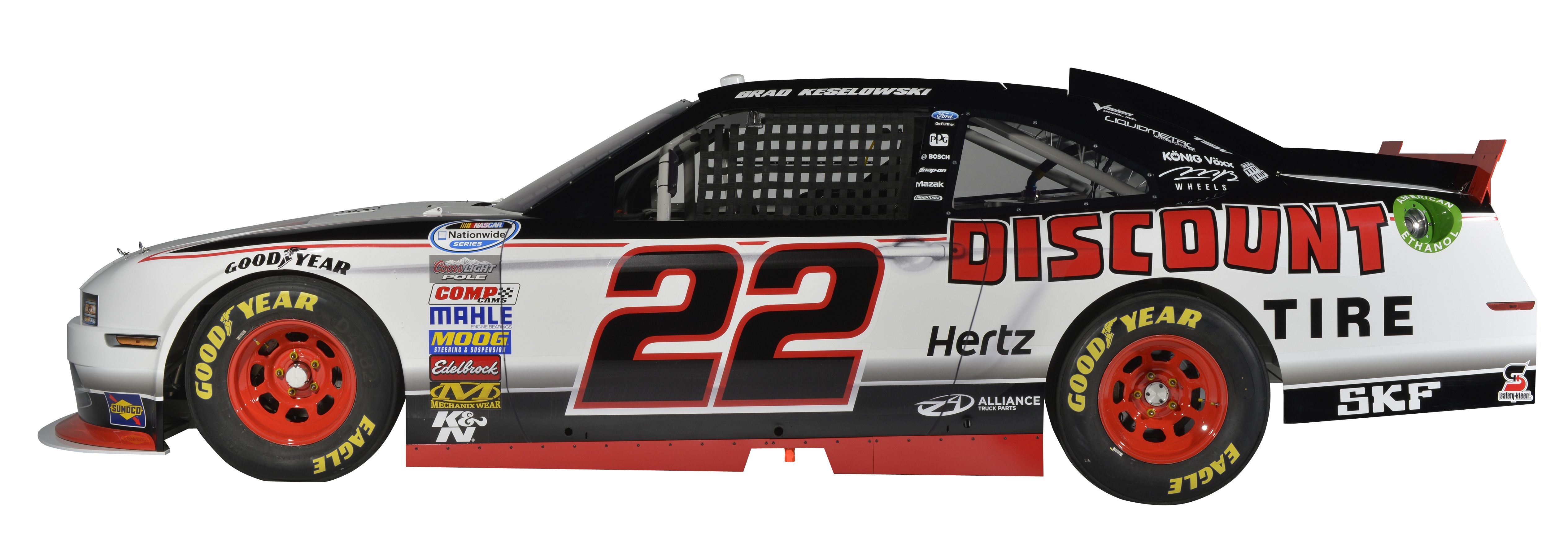 SKF to co-sponsor race car for NASCAR Nationwide Series ...