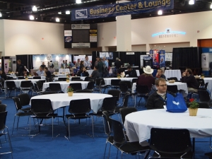 The Electrical Wire Processing Technology Expo lounge