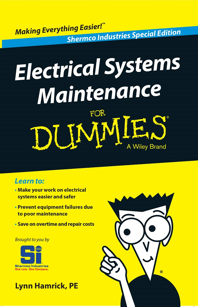 "Fear not! ""Electrical Systems Maintenance for Dummies"" now available ..."
