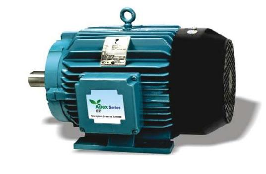 APEX series motor from Crompton Greaves.  -Photo by Crompton Greaves