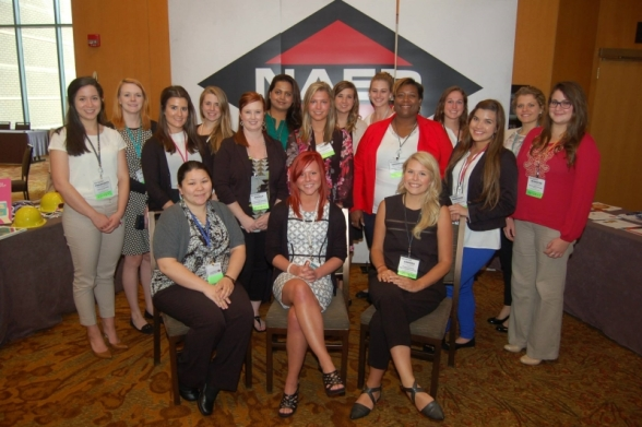 Seventeen students attended the Women in Industry forum due to new sponsorship program. -NAED photo