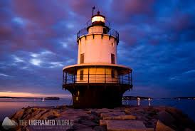The Spring Point Ledge Lighthouse