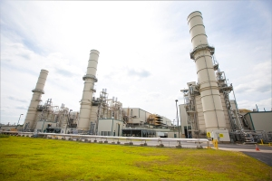 Natural gas-generated electricity, such as the kind at this plant, has seen a recent upsurge.