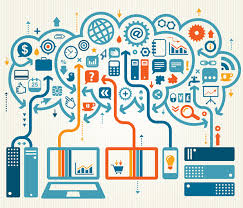IEEE's depiction of the Internet of Things (IoT).