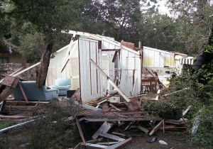 The property that was destroyed in Carmel, Cal., during the 2014 explosion.