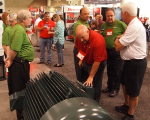 Attendees at this year's EASA convention in Toronto.—Electrical Apparatus photo by Bill O'Leary