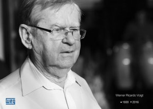 Werner Ricardo Voigt, WEG founder, 1930-2016.