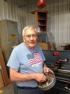 "William ""Bill"" Austin has retired after a 60 year career.—Globe Gazette photo"