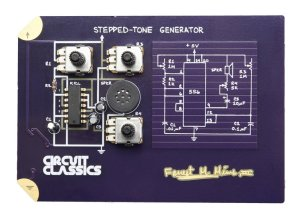 Simpson's DIY kits include this one, for the stepped tone generator, which gained public notoriety for its use in Atari video games during the 1980s.