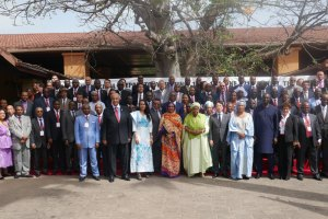 Participants to the TICAD-VI Ministerial Preparatory Meeting—United Nations photo