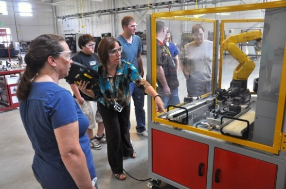 Mechatronics programs at Ivy Tech Community College.—Ivy Tech photo
